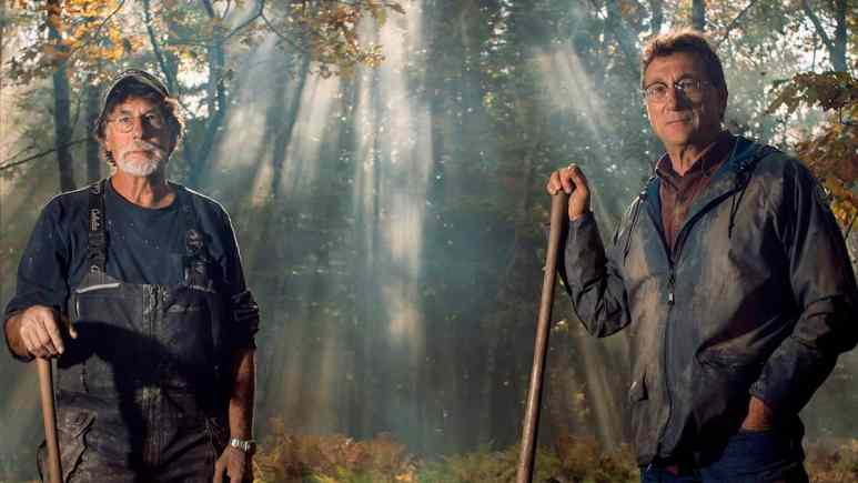 Rick and Marty Lagina in our exclusive The Curse of Oak Island Season 7 photo