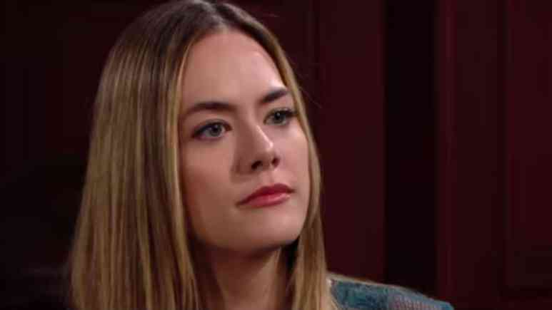 Annika Noelle as Hope on The Bold and the Beautiful.