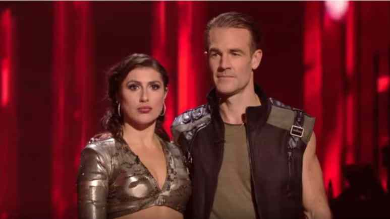 James And Emma DWTS