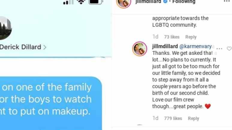 Jill Duggar responds to fan question.