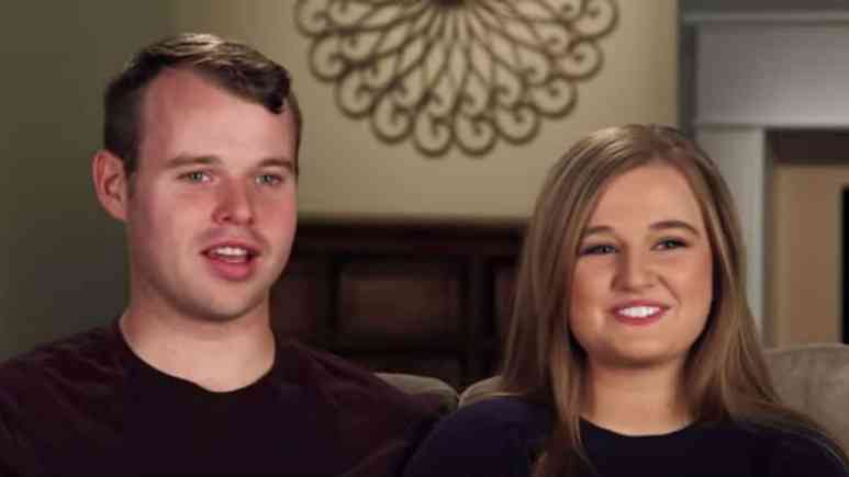 Joseph Duggar and Kendra Caldwell during a Counting On confessional.