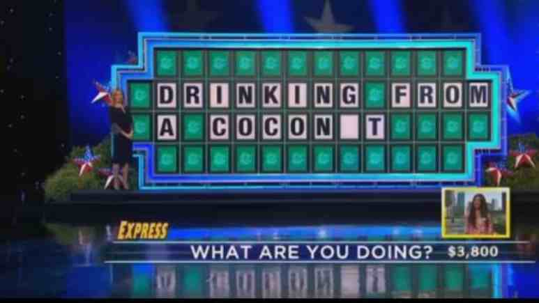 Wheel of Fortune mistake