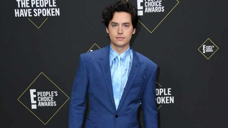 Cole Sprouse at the PCAs