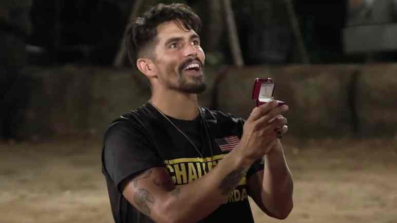 jordan wiseley proposes on the challenge war of the worlds 2