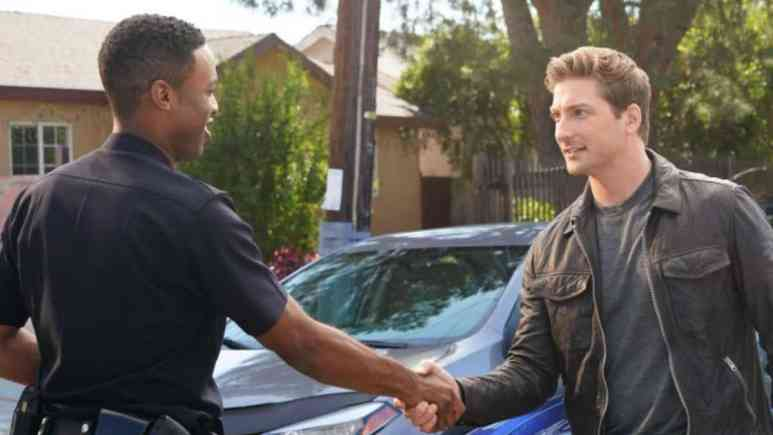 Daniel Lissing on The Rookie