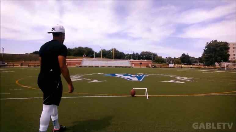 New England Patriots sign trick shot kicker Josh Gable
