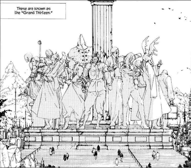 Levius Manga Grand Thirteen