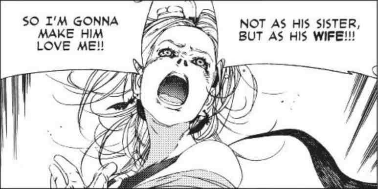 Levius est Manga Characters Natalia Garnet