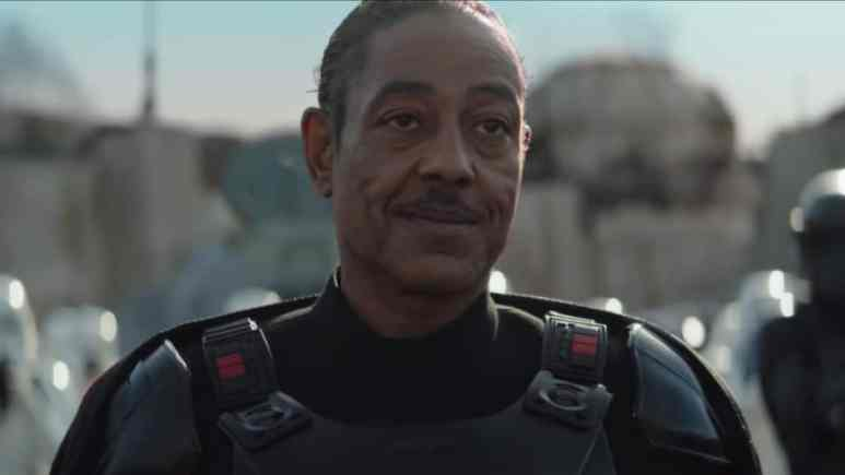 Giancarlo Esposito as Moff Mando on The Mandalorian