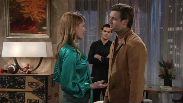 The Young and the Restless spoilers for next week show tension is in the air.