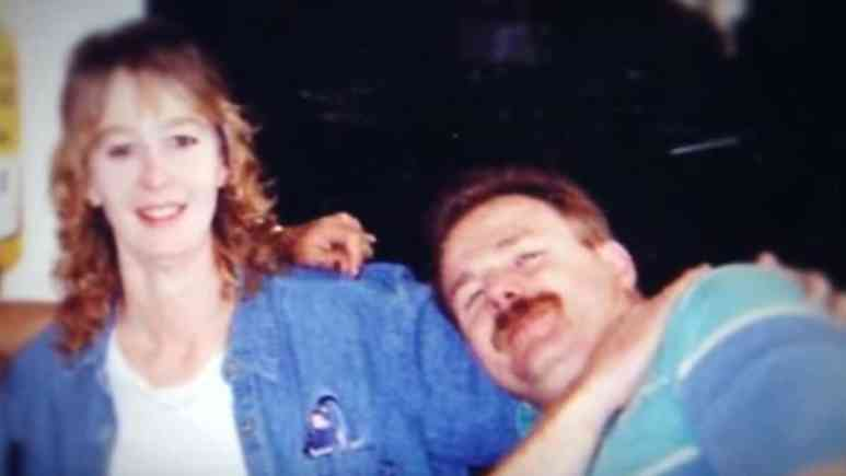 Stacey and David Castor in happier times