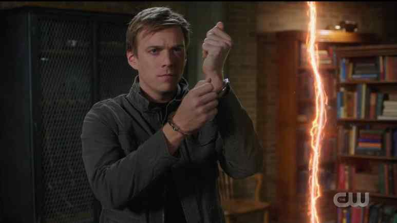 Michael opens a portal to Purgatory. Pic credit: The CW