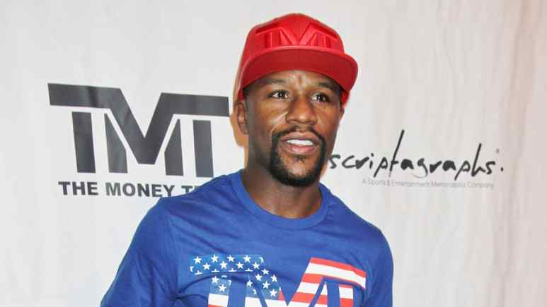 boxer floyd mayweather is at top of highest paid athletes for past decade