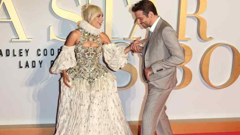 A Star is Born actors Bradley Cooper and Lady Gaga