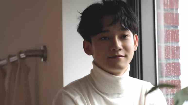 Singer Chen from South Korean-Chinese band Exo
