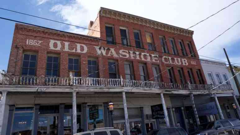 The Washoe Club in Virginia City on Ghost Adventures