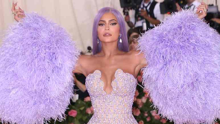 Kylie Jenner at the Met Gala
