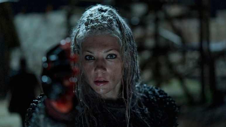 Lagertha close up of the end