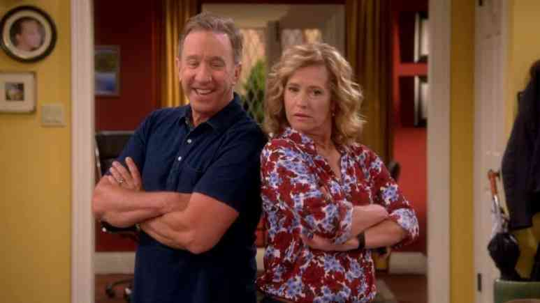Tim Allen and Nancy Travis on Last Man Standing