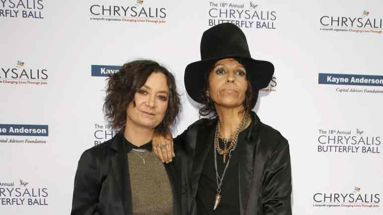 Linda Perry talks about split from Sara Gilbert.