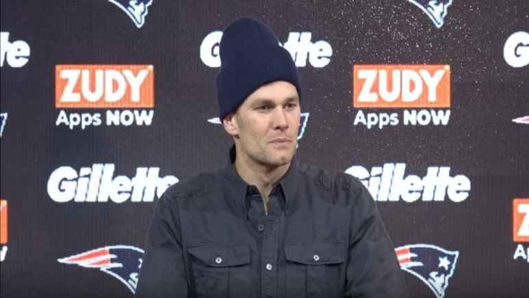 Tom Brady press conference