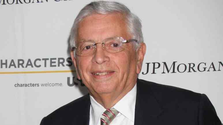 former nba commissioner david stern