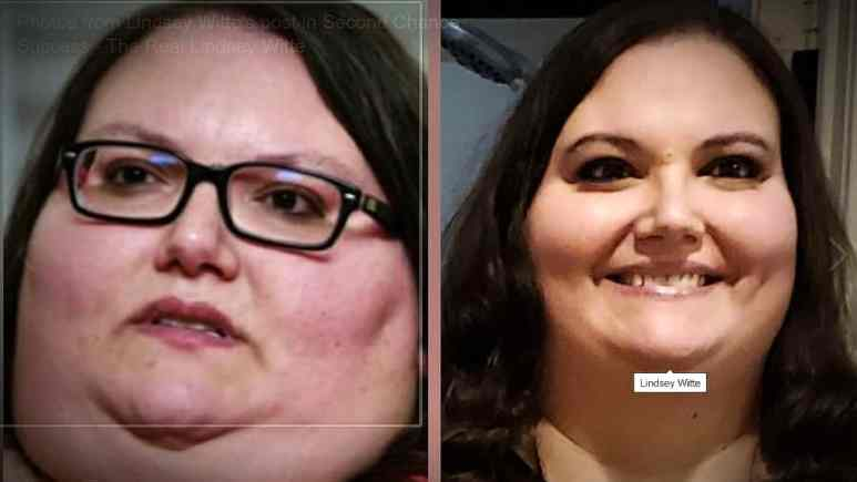 Stunning side by side comparison from Lindsey posted Friday, January 31, 2020. Pic credit: Lindsey Witte/Facebook