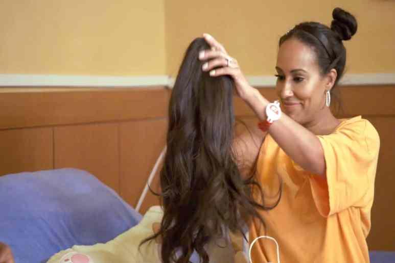 Tanya Sam exposes Kenya's wig on Real Housewives of Atlanta
