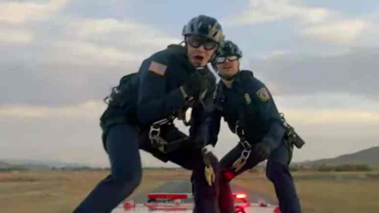 Oliver Stark and Ryan Guzman as Buck and Eddie on 9-1-1.