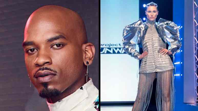 Marquise was eliminated for this avante Garde design