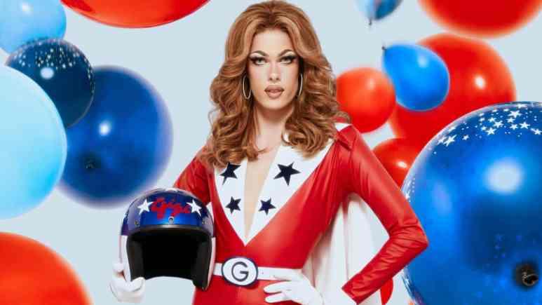 Gigi Goode is daring enough to strut her stuff on RuPaul's Drag Race. Pic credit: VH1
