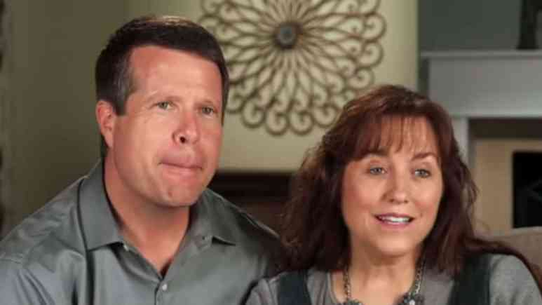 Jim Bob and Michelle Duggar in Counting On confessional.