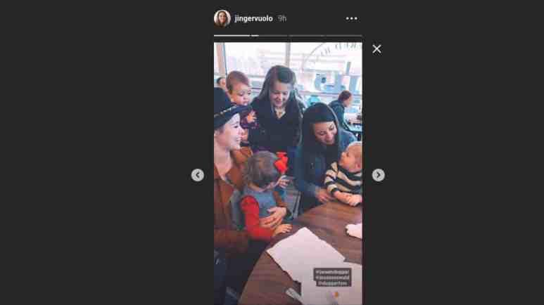 Jinger Duggar's lunch photo from Instagram.
