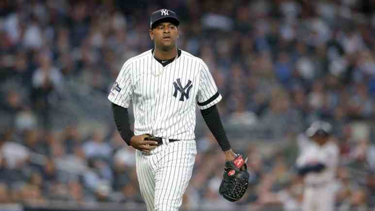 New York Yankees pitcher Luis Severino