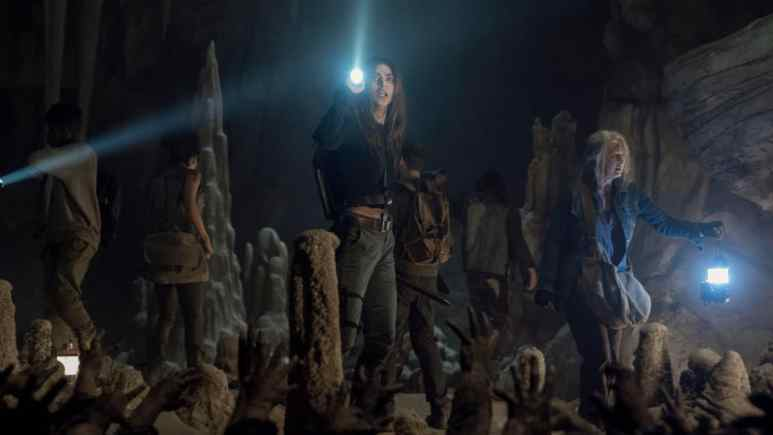 Magna, Carol, Connie, Kelly, Daryl, as seen in Episode 9 of AMC's The Walking Dead Season 10