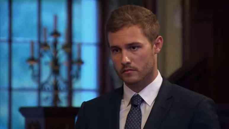 Peter Weber on The Bachelor