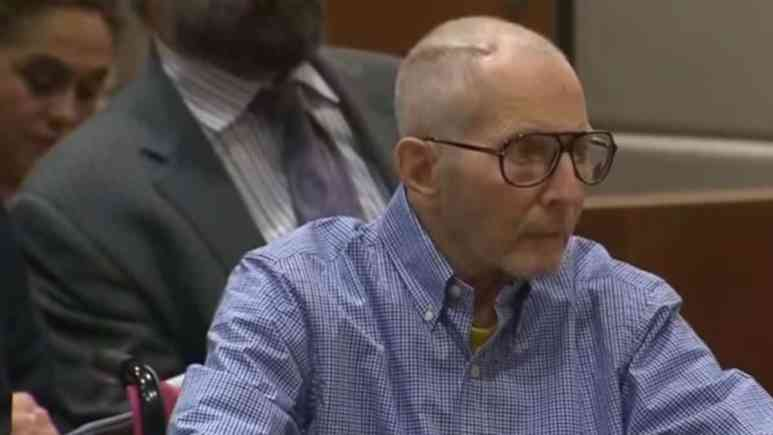 Robert Durst at pre-trial