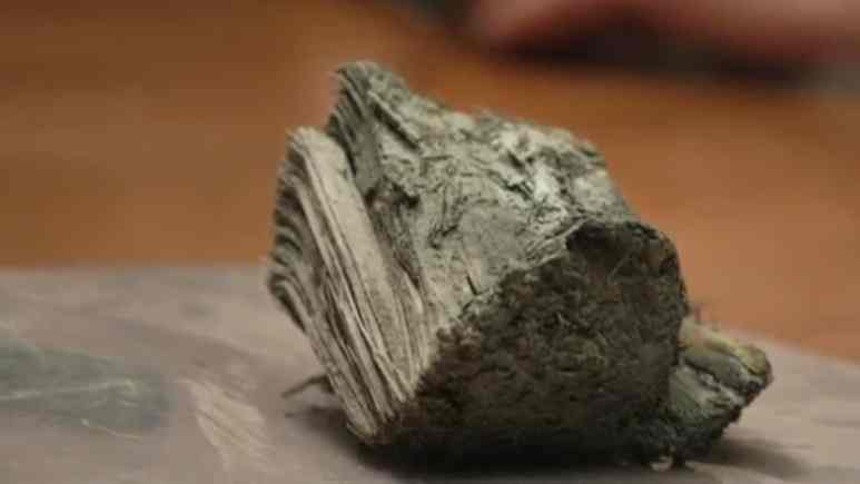 Chunk of wood from 17th Century