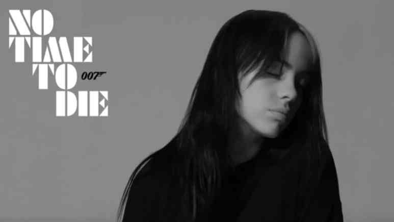 Billie Eilish on No Time To Die cover
