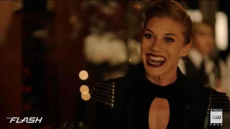 Katee Sackoff returns to The Flash as Amunet Black. Pic credit: The CW