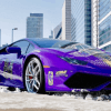 Super fan pays tribute to Kobe Bryant with $170,000 Lamborghini