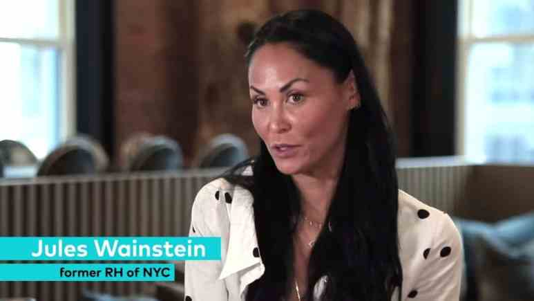 Former New York housewife Jules Wainstein arrested for Battery