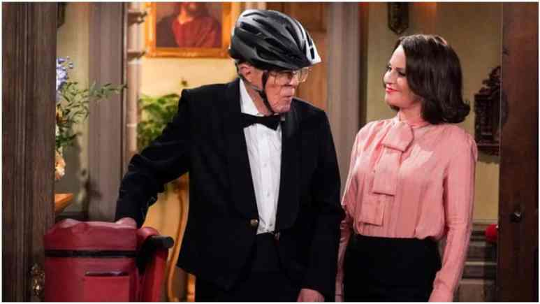Smitty makes a surprise appearance as a delivery driver in season 11 of Will & Grace