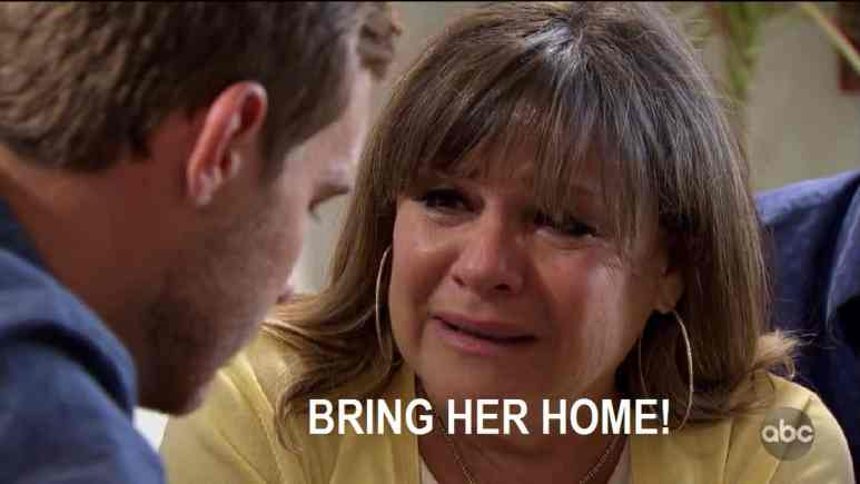 "bachelor peter's mom begs him to ""bring her home"""