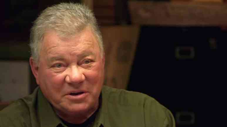 William Shatner on The Curse of Oak Island: Drilling Down