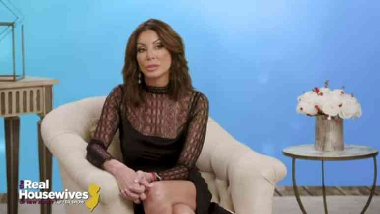 Danielle Staub on the after show