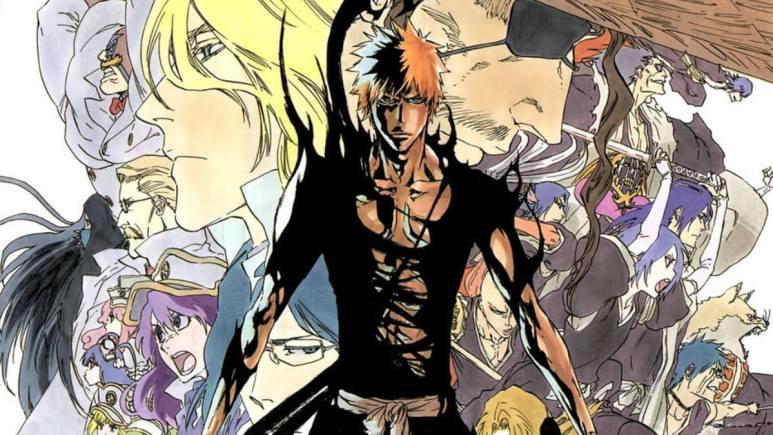Bleach manga artwork