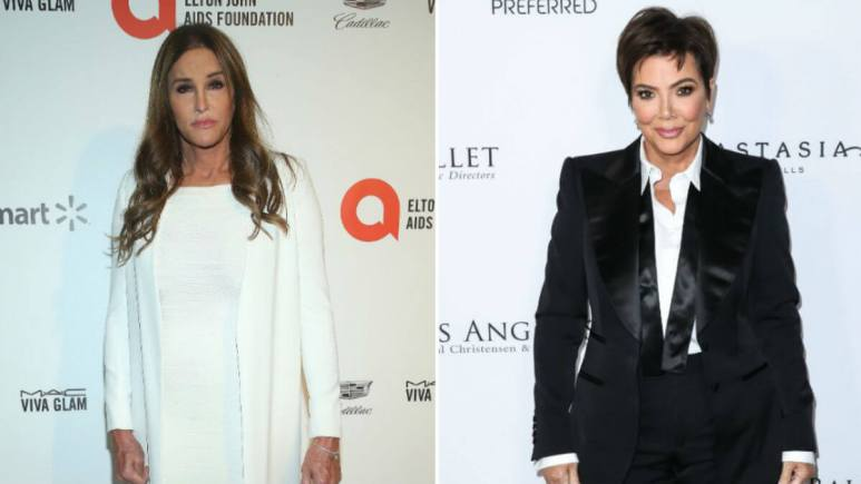 Is Caitlyn Jenner still competing with Kris Jenner?