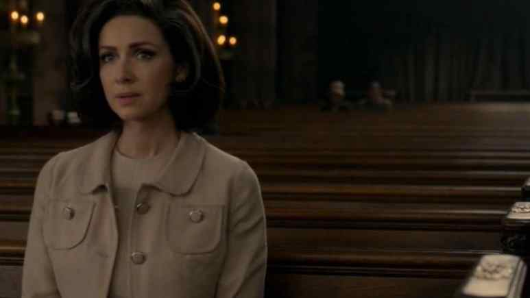 Caitriona Balfe stars as Claire Fraser