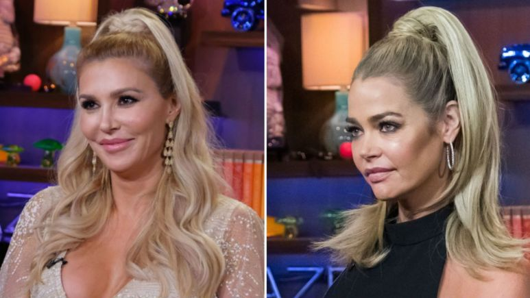 The Brandi Glanville and Denise Richards drama is heating up on RHOBH